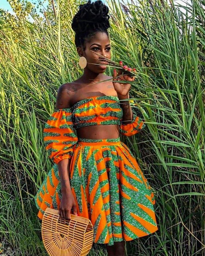 африканский стиль в этно одежде