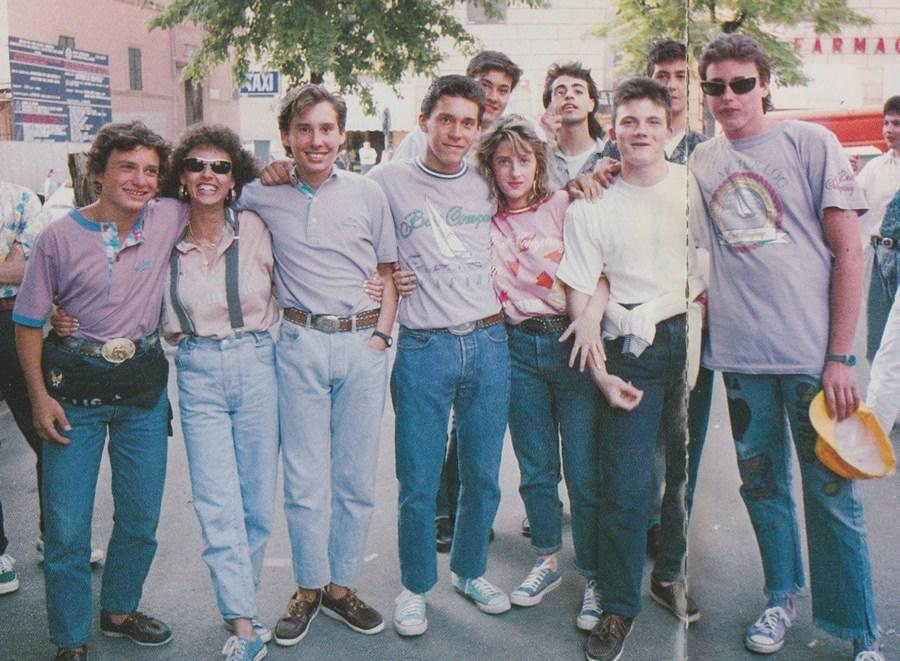 casual в одежде 80-х