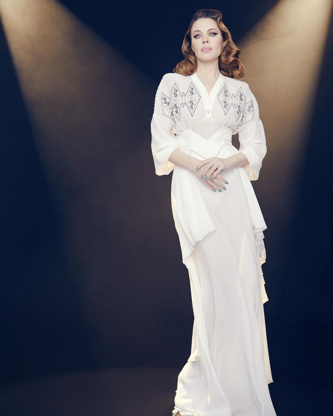 этно платье