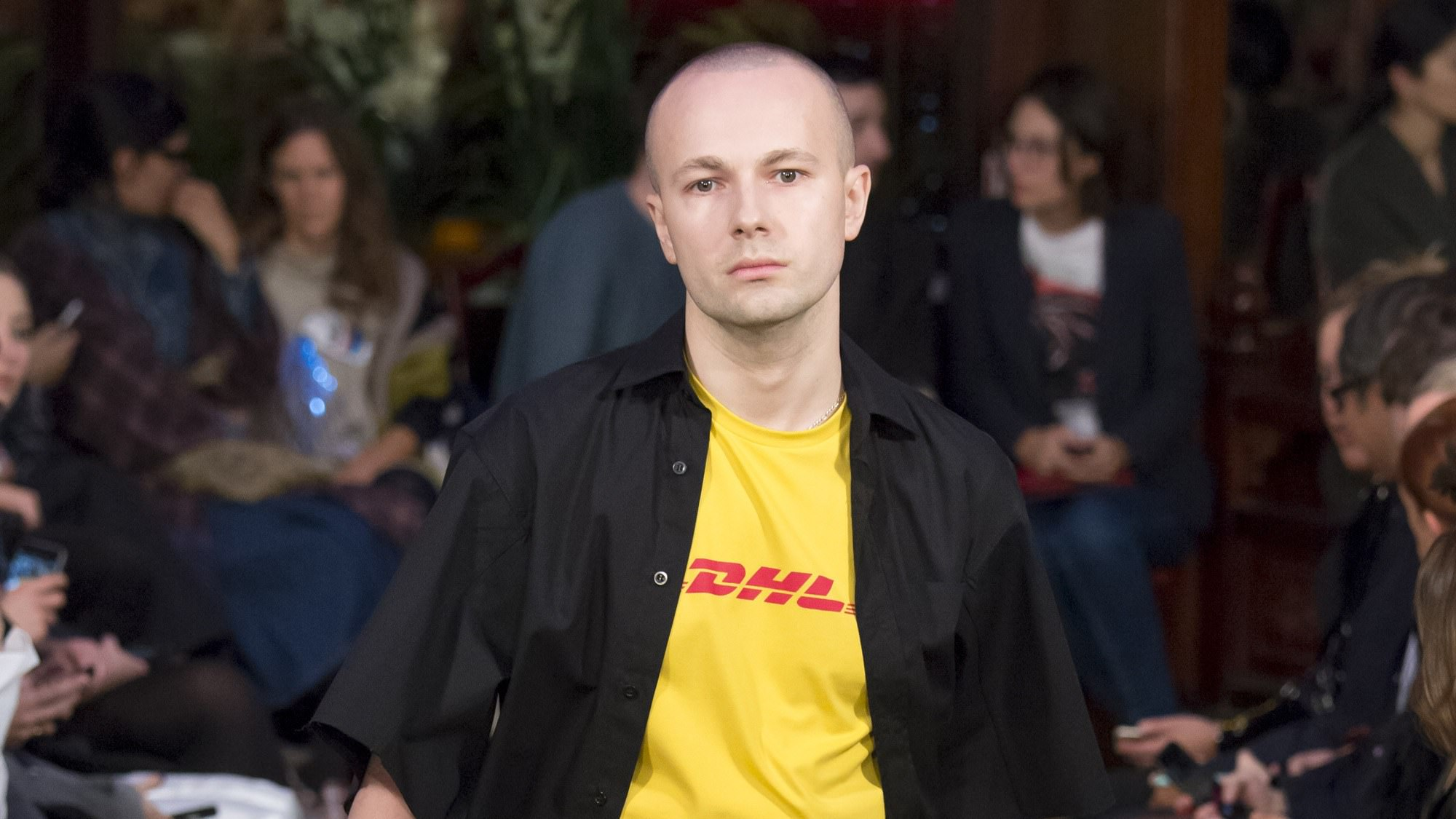 Гоша Рубчинский DHL
