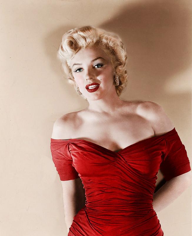 Мэрилин Монро в Красном платье