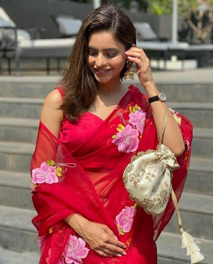 платье в индийском стиле этно