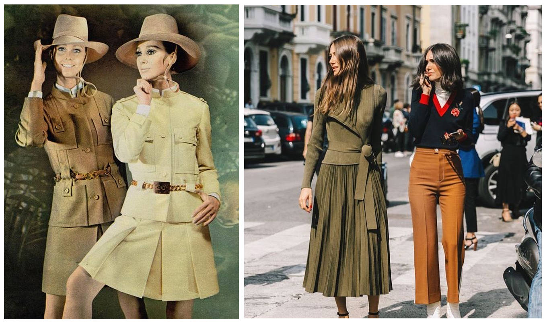 приход одежды в стиле милитари в моду