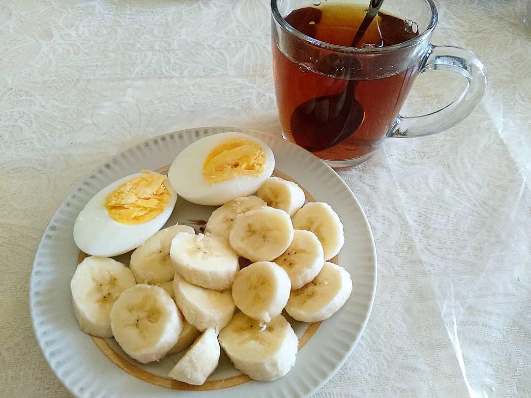 банановая диета с яйцом и зеленым чаем