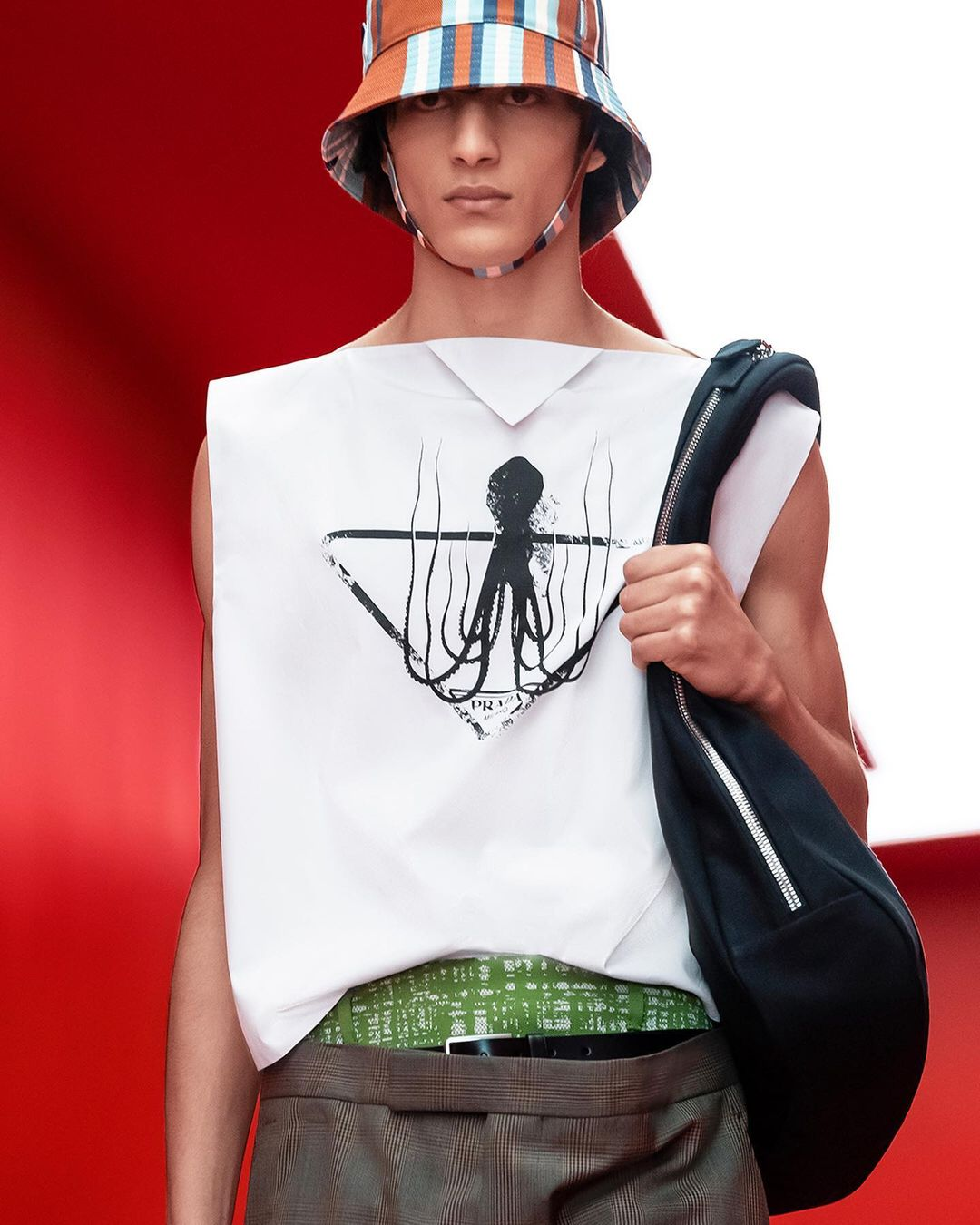 Discover the #PradaSS22 menswear collection