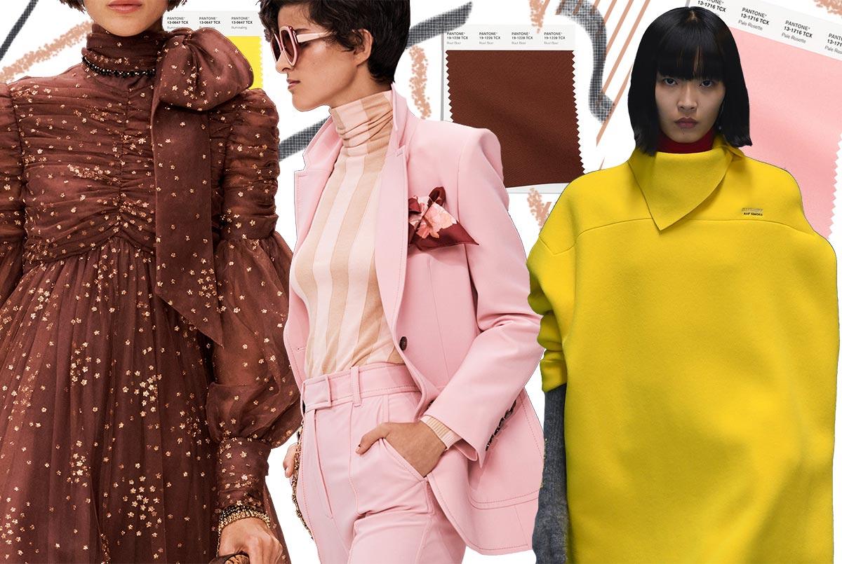 модные цвета осени 2021-2022