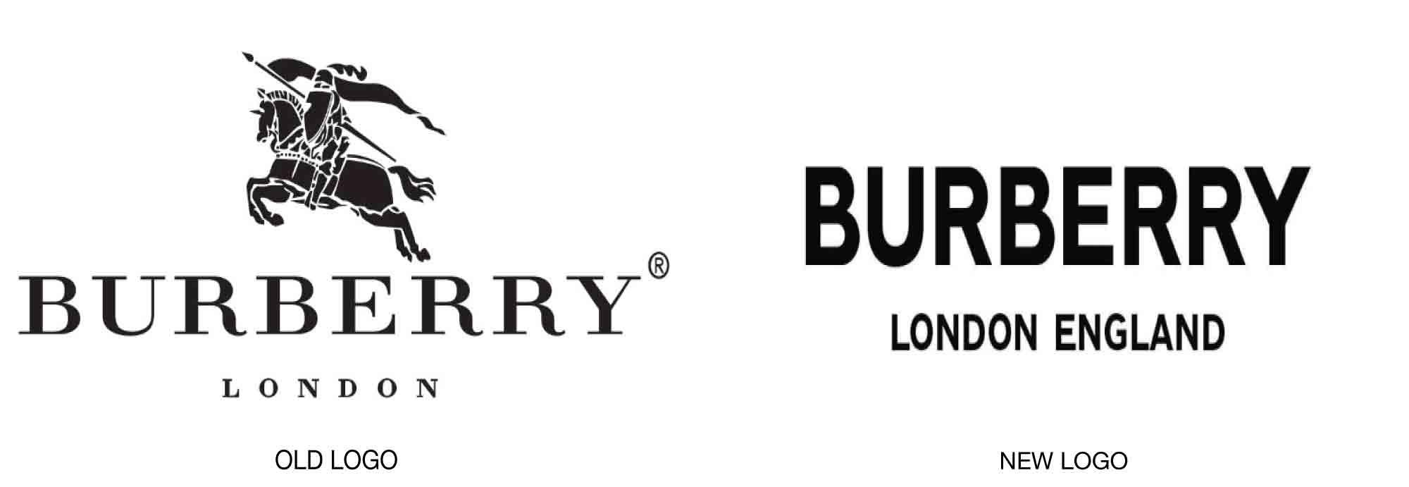 Фирменный знак и логотип Берберри