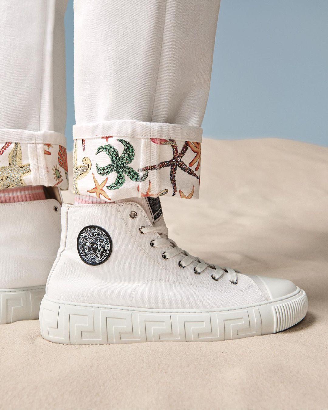 Коллекция обуви Версаче