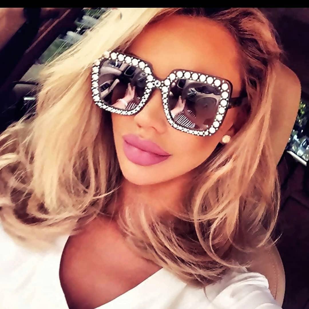 очки с блестками