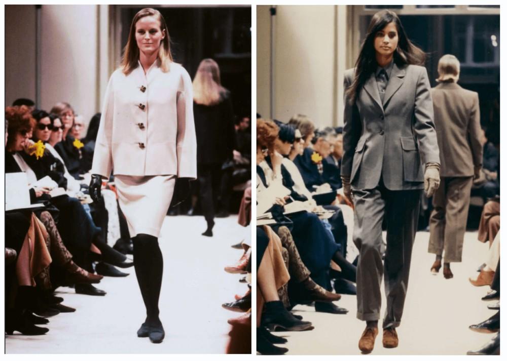 показ одежды Prada