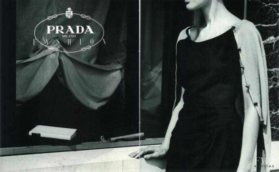 Prada advertisement for Autumn/Winter 1988