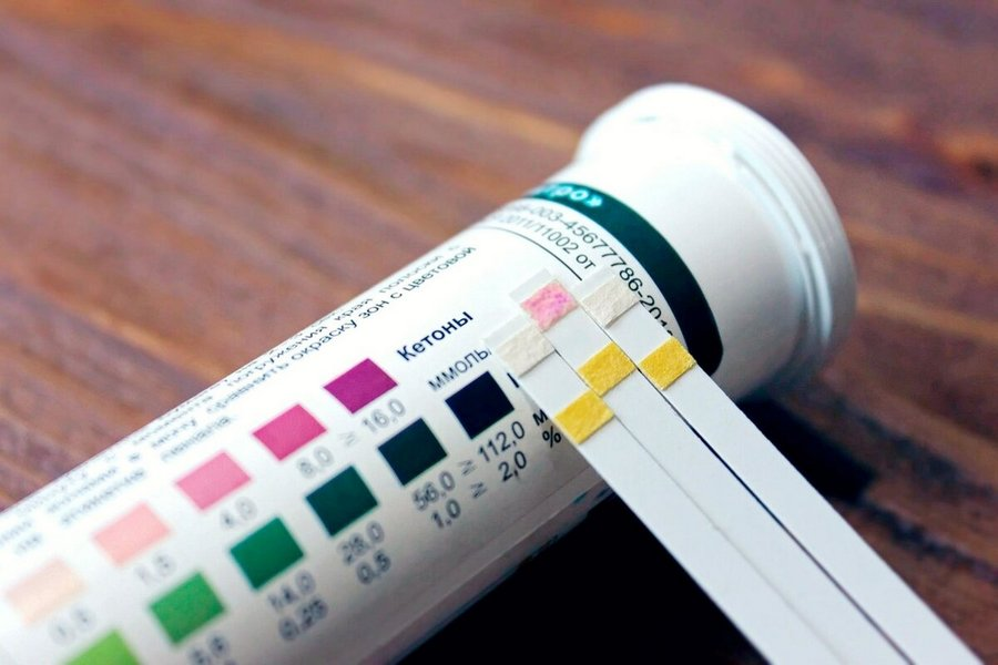 тест полоски на кетоновые тела
