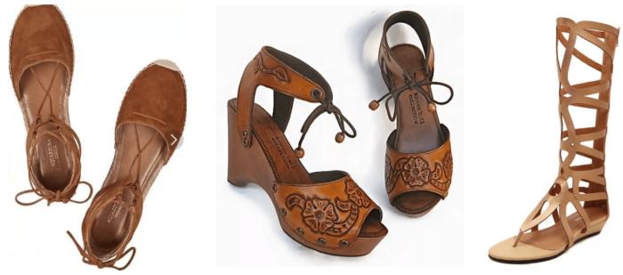 туфли в стиле бохо