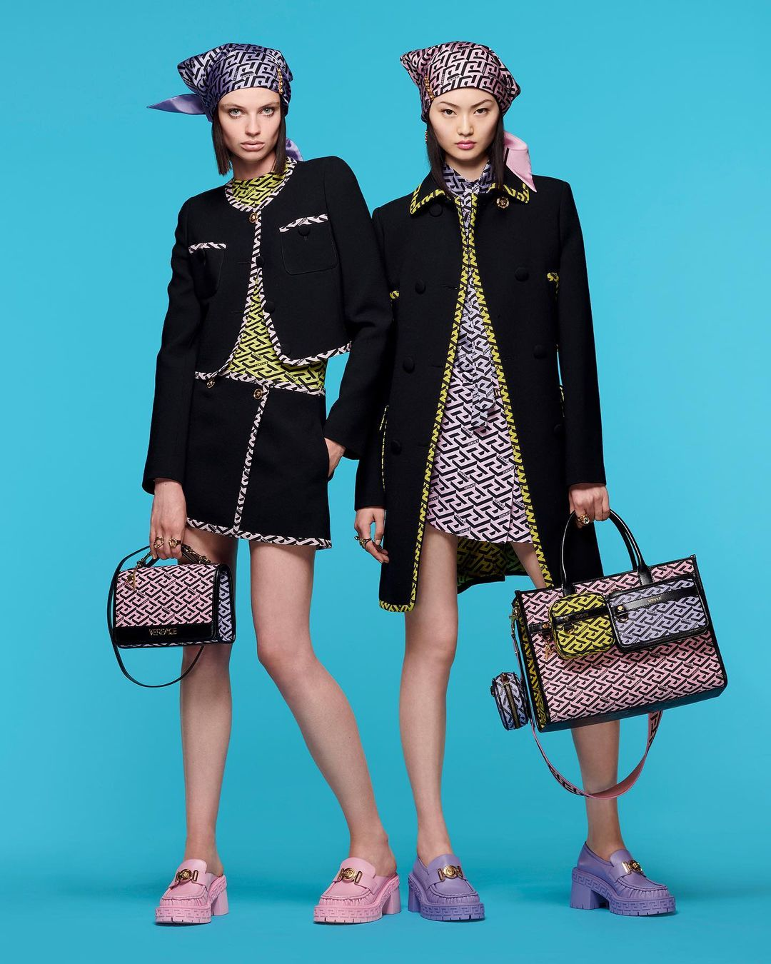 """Very Versace - """"This season is about having fun with fashion again."""""""