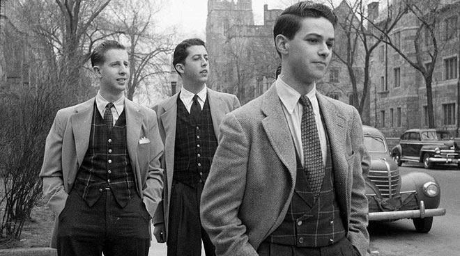 выпускники Лиги Плюща в 50-е